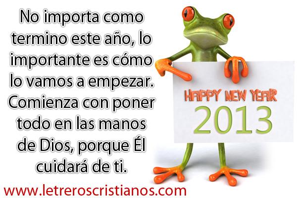 Año Nuevo Letreros Cristianoscom Imagenes Cristianas