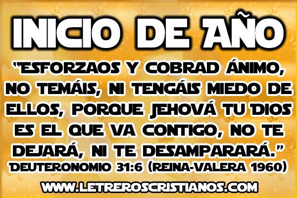 Mensajes De Inicio De Año « Letreros Cristianos.com