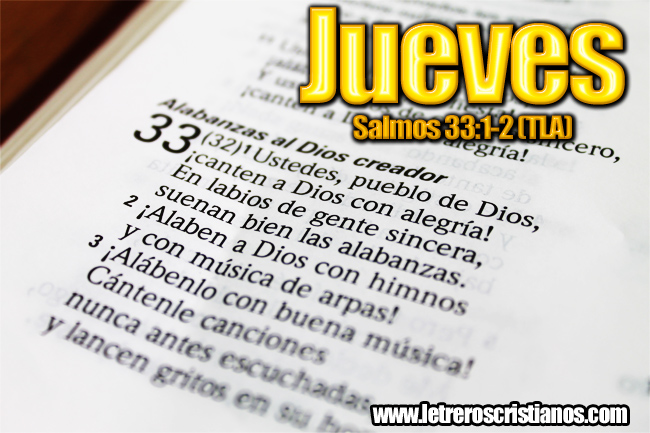 JUEVES-SALMOS-33