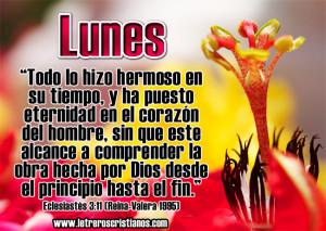 Lunes-Eclesiastes