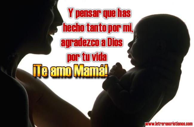 Dia De La Madre Letreros Cristianoscom Imagenes