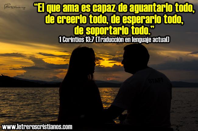El que ama… « Letreros Cristianos.com :: Imagenes