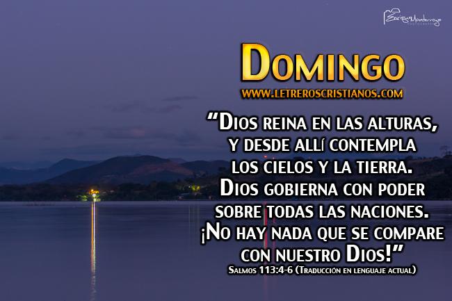 Domingo Salmos 1134 6 Tla Letreros Cristianoscom Imagenes